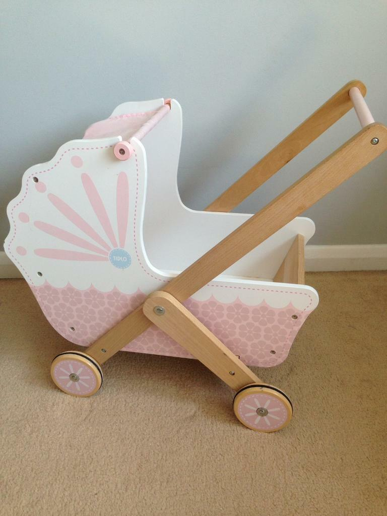 Tidlo wooden dolls pushchair / pram | in Sawston ...
