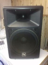 EV Full Range PA Speakers 1200w Pair
