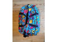 Mr Men Multi-Print Wheeled Holdall / Trolley Suitcase