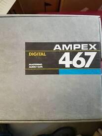 AMPEX 467 Digital Audio Tape with Metal Reel