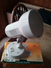 Brand new, Eterna spotlight with 11w energy saving bulb.