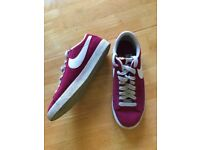 Womens Purple Nike Blazers Trainer size 6