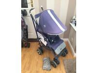 Maclaren techno xt pram/pushchair & raincover 💥 £30 collected or £35 delivered within 10 miles 💥
