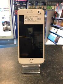 Apple iPhone 6 Plus Gold 16GB locked to o2