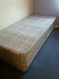 Childs divan base bed with storage