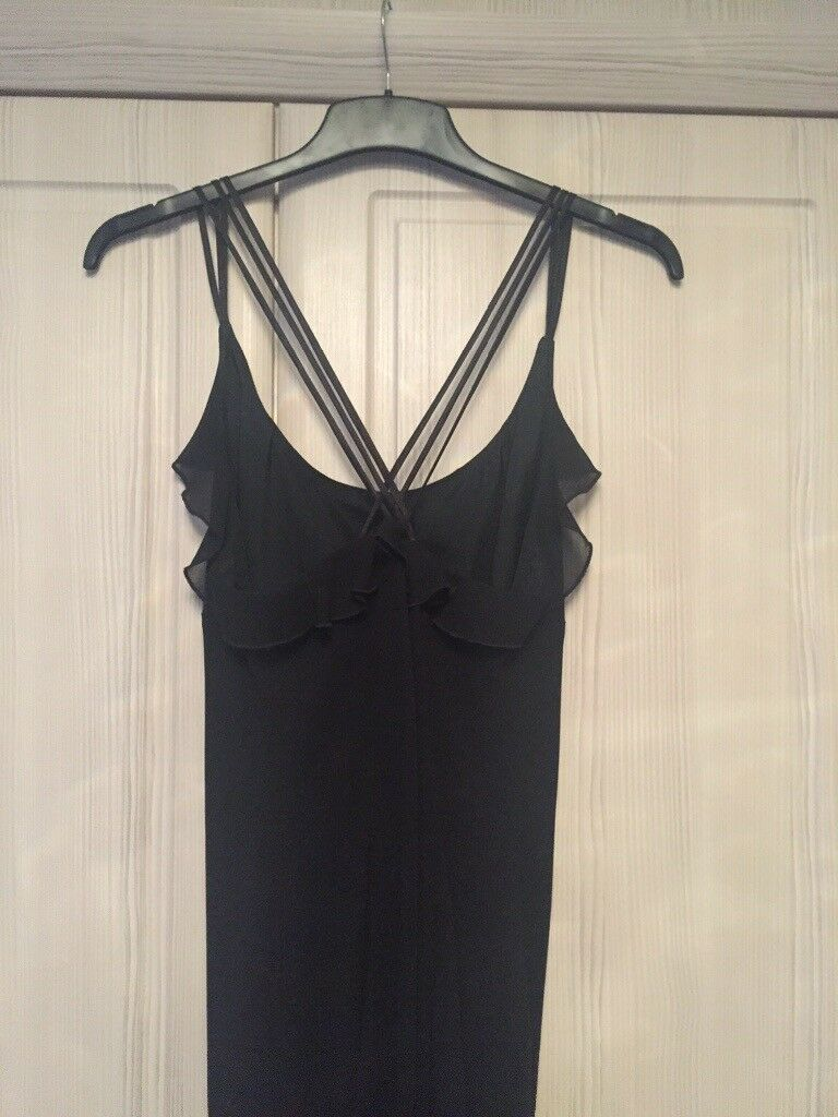 Long Black Evening Dress Size 16 In Liskeard Cornwall Gumtree