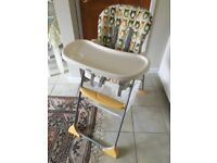Barely used high chair that was brought from new