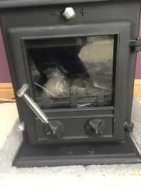 Brand new woodburning and coal burning Oslo-Eco 8kw stove