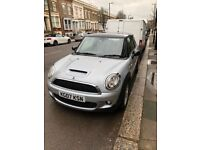 Mini Cooper S 1.6 silver manual, great runner and great looking car