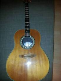 Ovation legend model no.1117 acoustic guitar