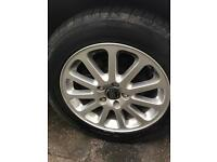 Alloys and tyres 5 stud 215-55-16