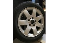 X4 bmw series one alloys and tyres