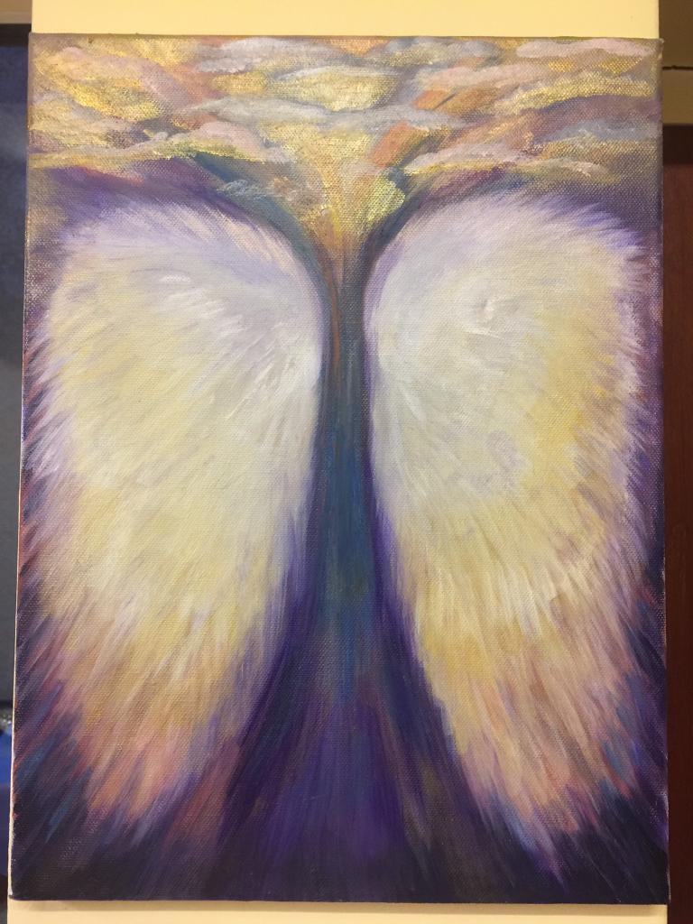 Rise up Acrylic Painting