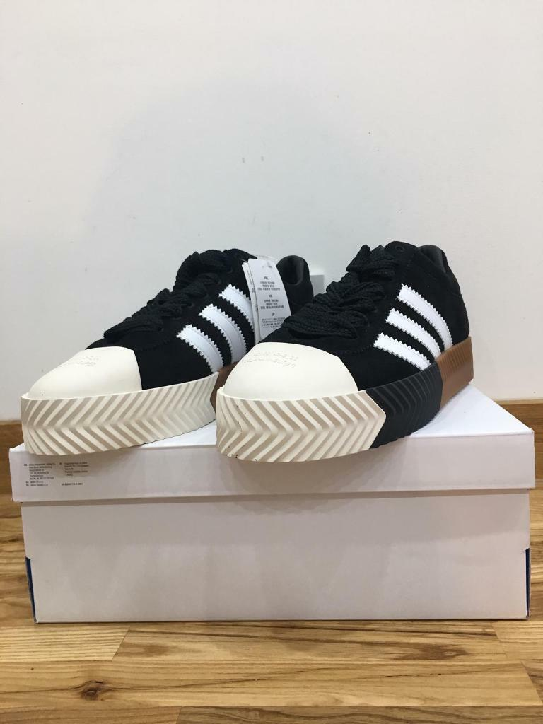 Brand New In Box Adidas Originals by Alexander Wang 'AW Skate Super'  Sneakers Trainers Size UK11  a8280feb4