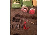 various fishing equipment