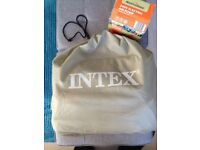 INTEX Double Airbed & Electric Air Pump