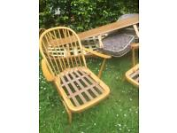 Ercol Daybed & two 203 armchairs