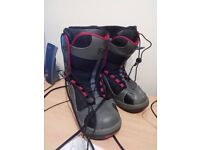 Snowboarding boots Black Size 7.5