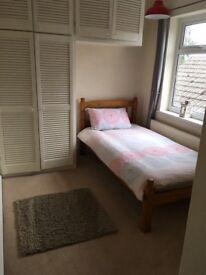 Single bedroom furnished