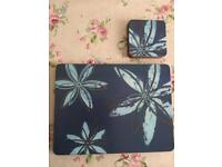 Denby placemats and coasters