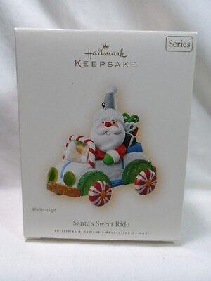 2007 Hallmark Keepsake Ornament SANTA'S SWEET RIDE #1 in Series