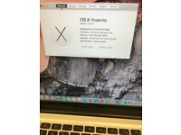 "MacBook Pro A1286 15"" 2009 2.66 GHz,320 Gb Hdd,4 Gb Ram,Office 2011,Numbers, Pages, Keynote."