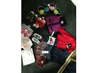 Girls bundle new clothes 2-3 and shoes 6 and 7 all new from smoke free and pet free home
