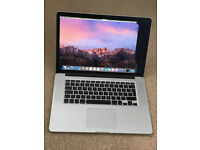 "Macbook Pro 15"" Retina i7 2012/2013 model"