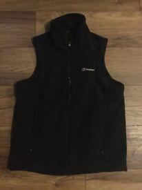 Black Berghaus Fleece Body Warmer