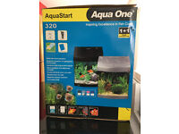 AquaStart 320 complete with pump and accessories