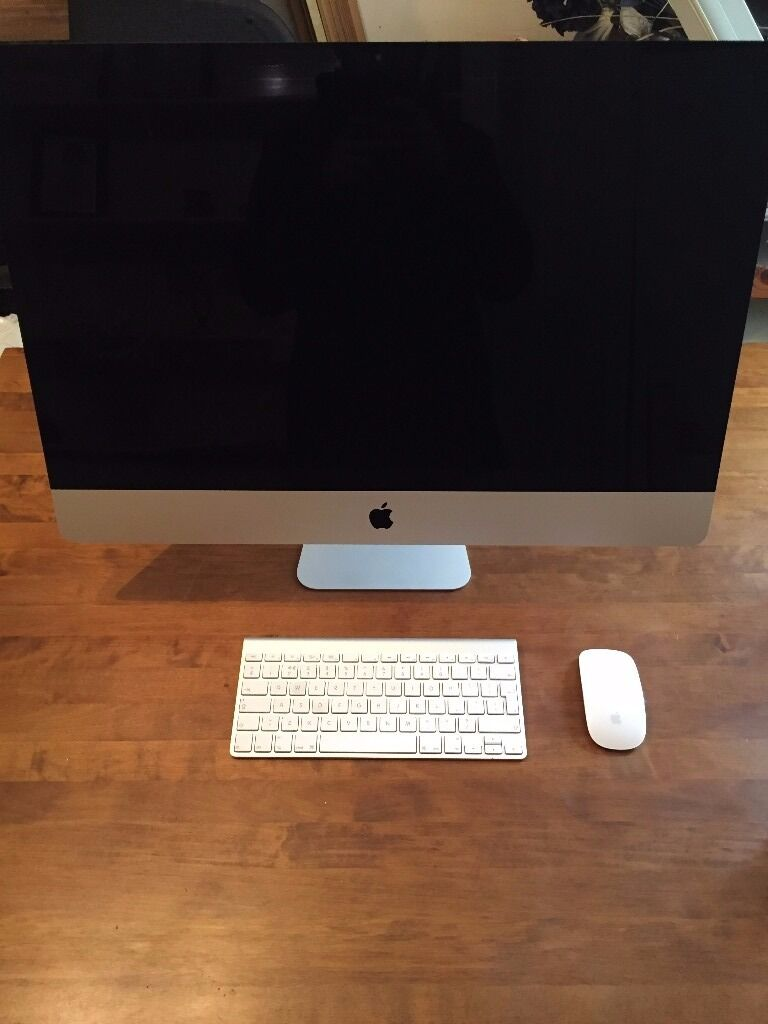 """Apple iMac 27"""" late 2013, pristine condition, 3.2GHz, 8GB RAM, 1TB, Nvidia 1GB GT755M, Boxedin Bootle, MerseysideGumtree - Apple iMac 27"""" late 2013 in pristine condition, not a scratch or scuff. Can deliver in Liverpool. 3.2GHz intel core i5 processor (turbo boost up to 3.6GHz) 8GB DDR3 memory (configurable to 32GB) 1TB hard disk 1024MB Nvidia GeForce GT 755M This iMac..."""