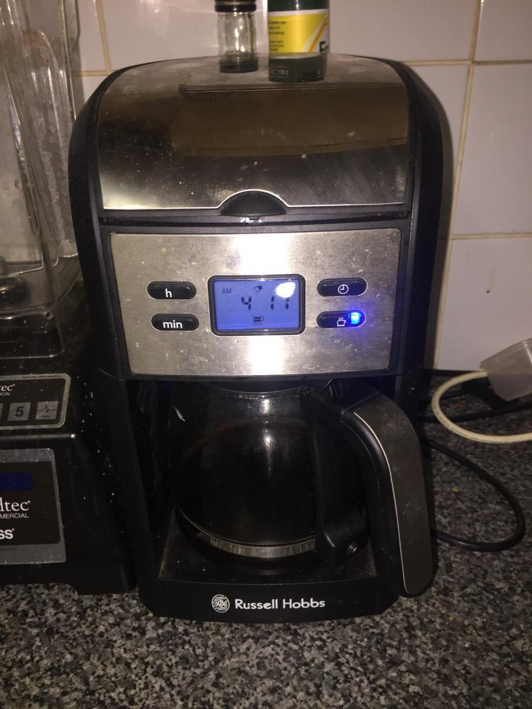 Russell Hobbs Coffee Machine Good working order collection millbrook oos