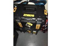 Dewalt t stack boxes new !!!!