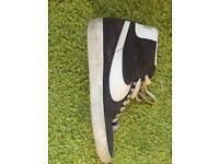 Grey Nike Blazers