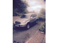 Toyota landcruiser years mot part service history. £5000 ono