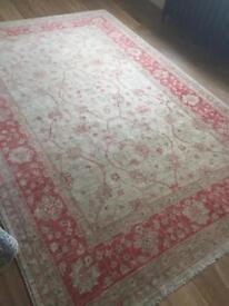 Wool rug from selfridges