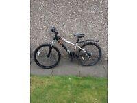 Child bike Barracuda 18 speed x jibe 24