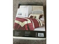 Catherine Lansfield studio bedding and curtains