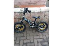 Boys Batman Bike. Including stabilizers
