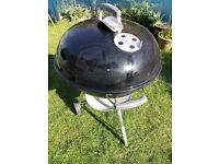 Weber kettle barbecue BBQ