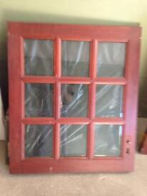 Stable door and door frame