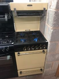 55CM CREAM LESUIRE EYE LEVEL GAS COOKER