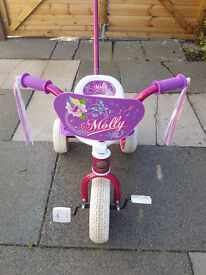 Trike Sunbeam Raleigh Molly with Streamers 3 wheel bike for toddler.