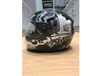 Small Nitro City Motorcycle Helmet in perfect condition