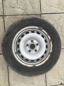 195/65 R15 wheel & Tyre 6.5mm
