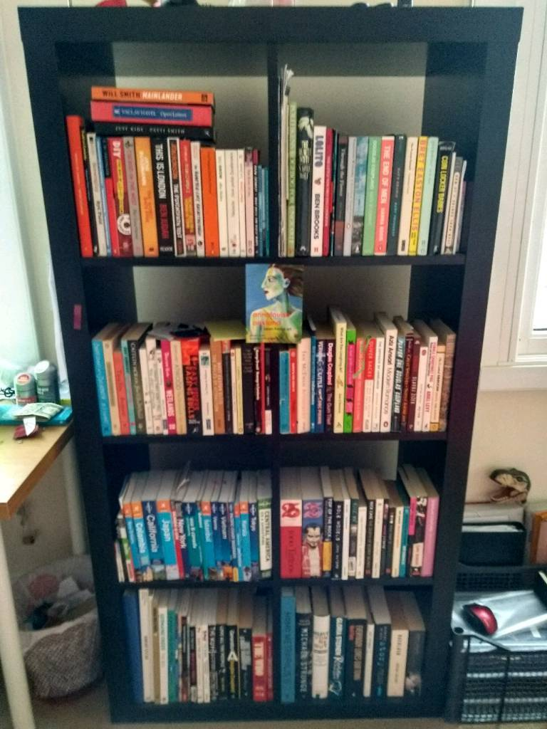 IKEA Kallax bookcase in black