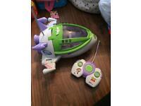 BARGAIN! Toy story Buzz lightyear remote control spaceship