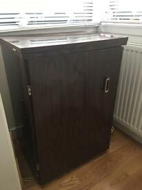 Rosewood Sewing machine cabinet