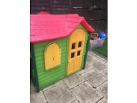 Little tykes play house
