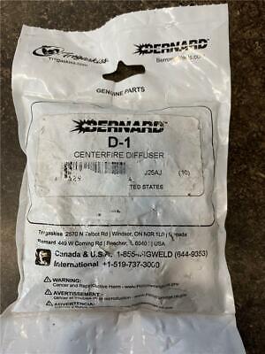 Bernard D-1 Centerfire Diffuser Package of 10